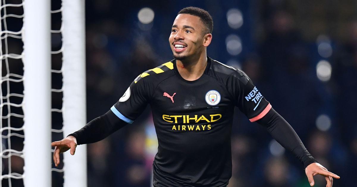 Premier League: Gabriel Jesus scores two as Manchester City earn big win at Burnley