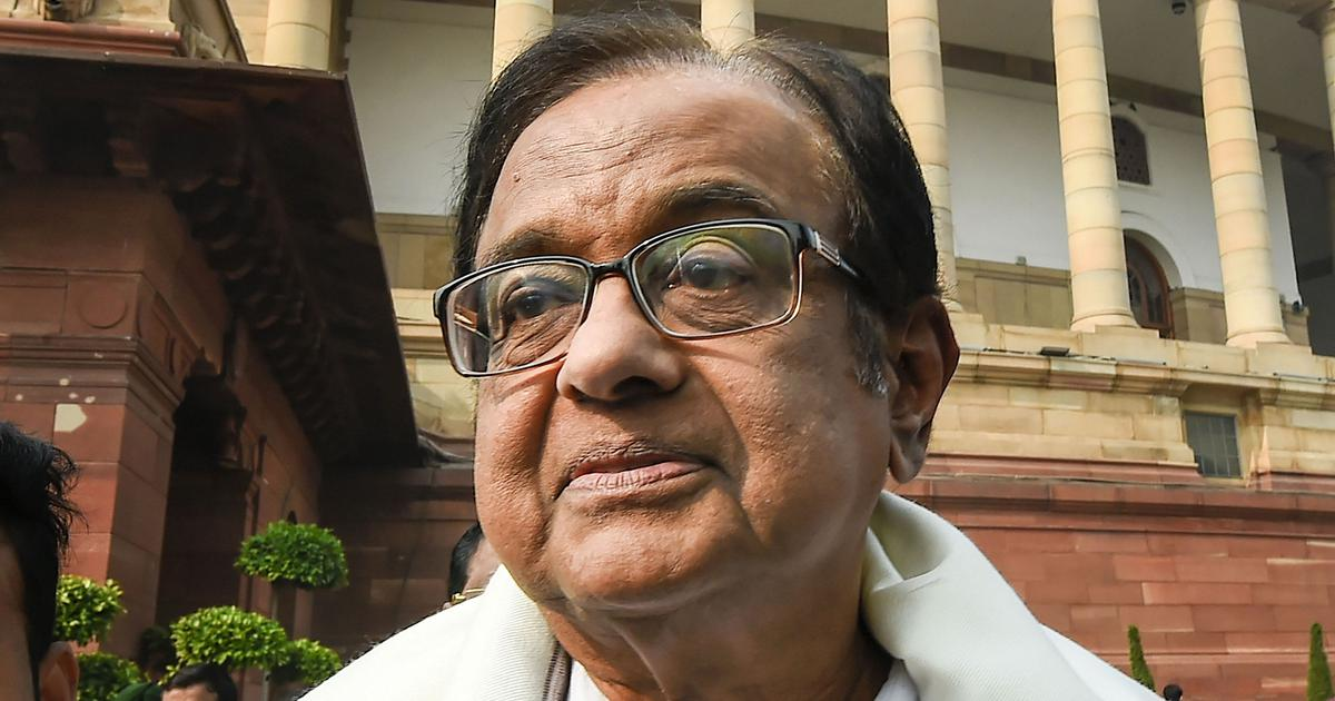 'Import embargo is high sounding jargon,' says P Chidambaram on Centre's ban on defence items