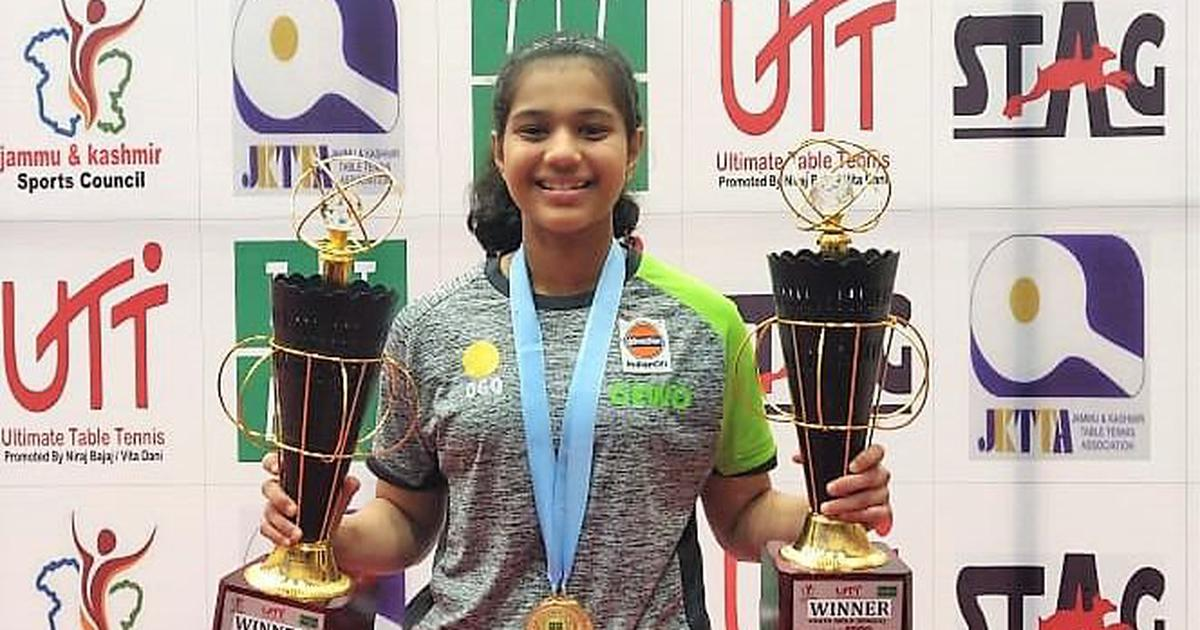 Table Tennis: Diya Chitale bags junior and youth titles at national championships