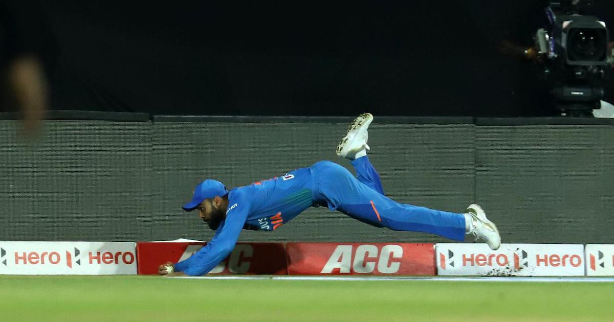 Watch: Virat Kohli takes a stunning catch on an otherwise abject day on the field for India