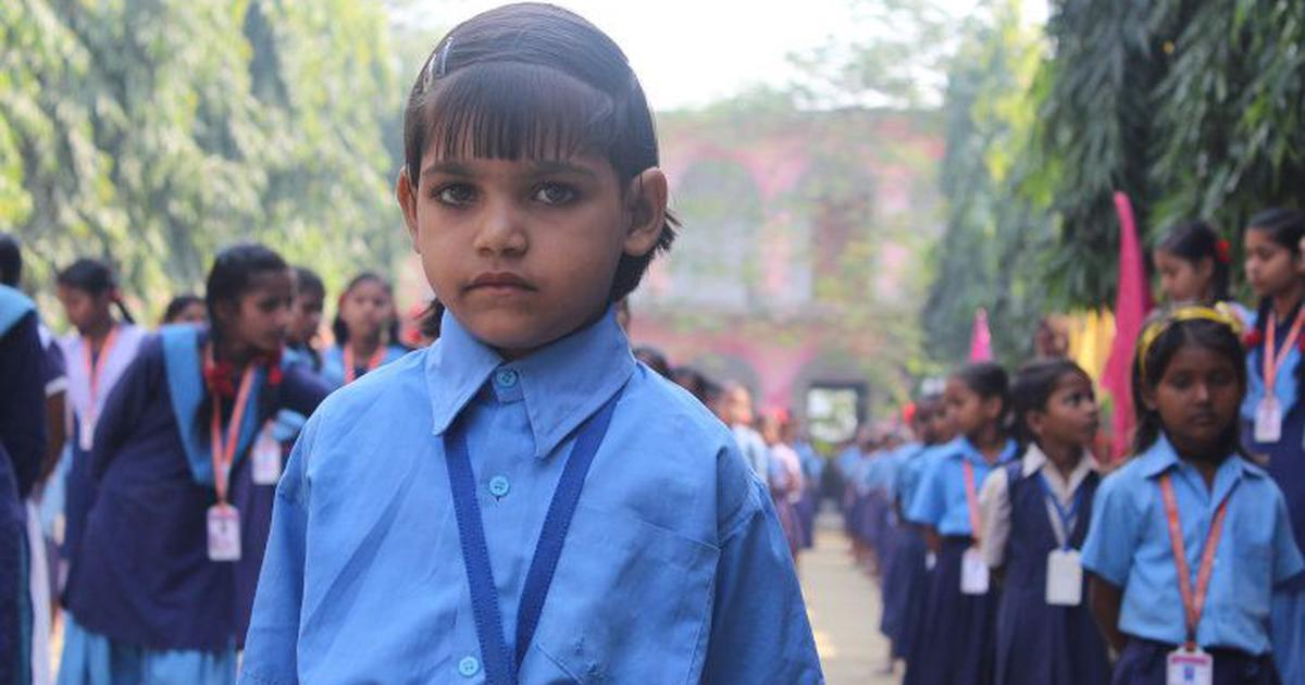 In public schools across Bihar, students are growing their own vegetables in 'nutrition gardens'