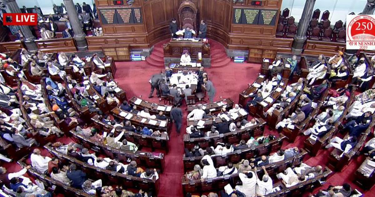 Citizenship Amendment Bill passed in Rajya Sabha with 125 votes for, 105 against