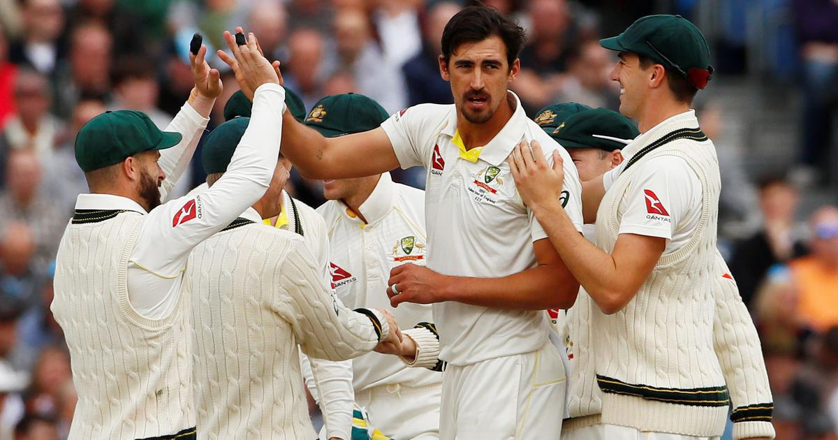 Starc's burst, Smith's stunning catch puts Australia on top against New Zealand in day-night Test