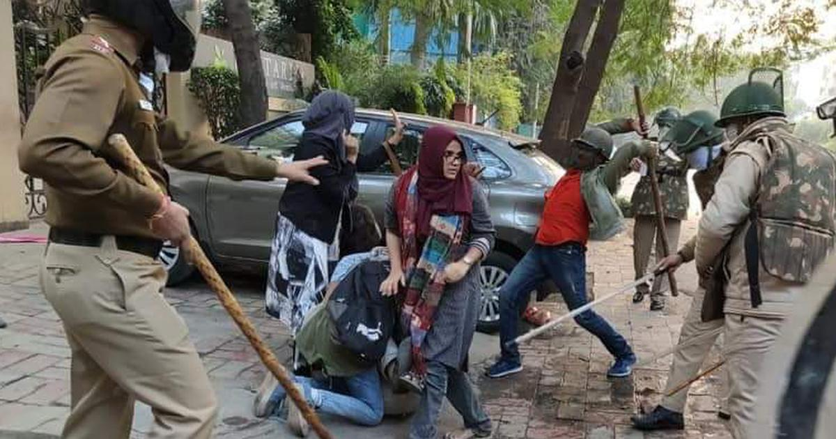 Meet the brave women of Jamia who rescued a fellow student from the clutches of Delhi Police