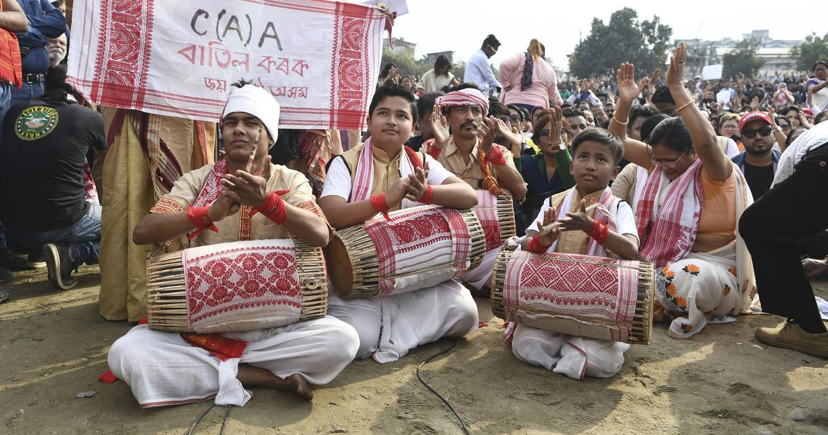 Internet suspension in Assam did not stop people from mobilising – and singing songs of protest