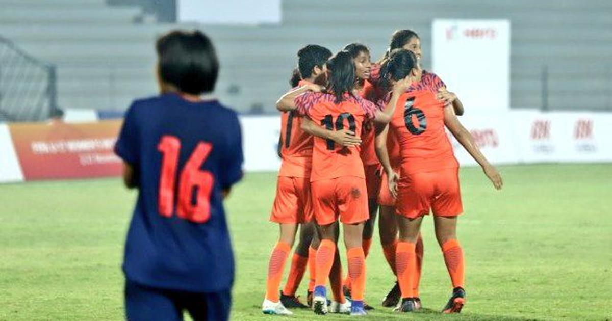 Football: Kritina Devi's late goal sinks Thailand, sends India U-17 into tri-nation tournament final