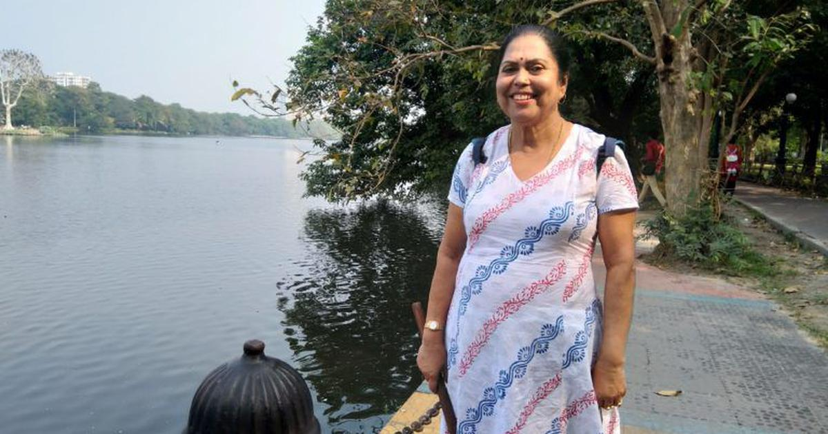Meet the woman who is single-handedly trying to save Kolkata's Rabindra Sarovar lake