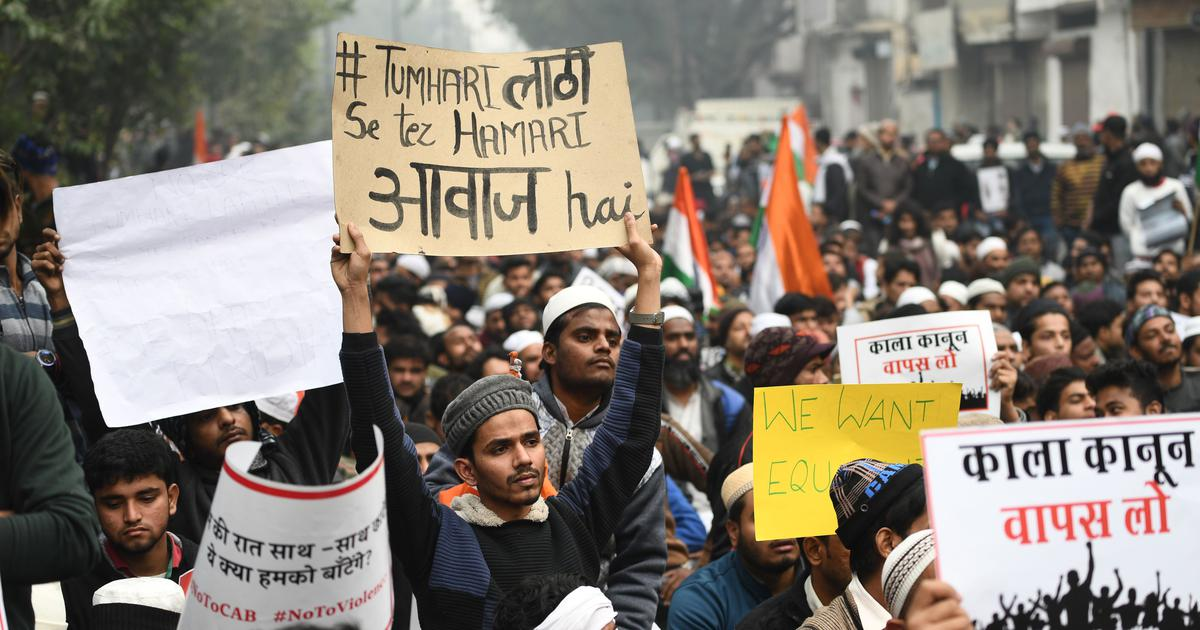 'Today it is us Muslims, tomorrow Sikhs or Christians?': Delhi speaks out against the CAA-NRC
