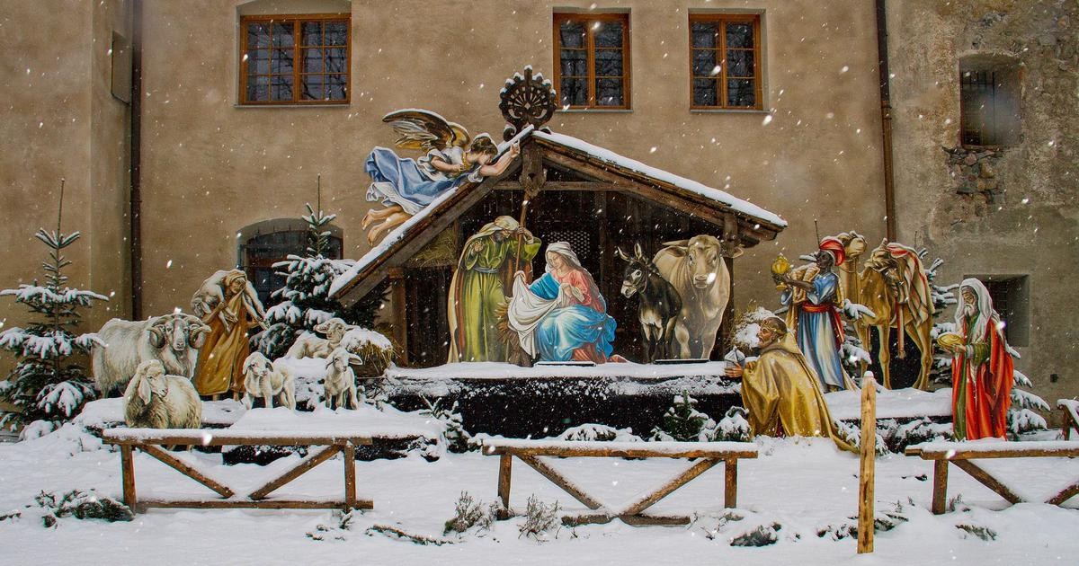 The universal image of baby Jesus in his manger was created only 1,200 years after his death