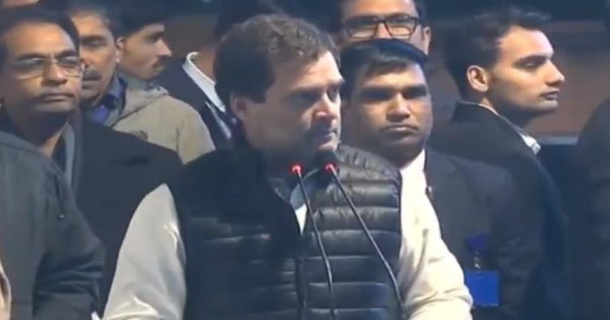 Rahul Gandhi says Modi has managed to do what its enemies could not – stall India's progress