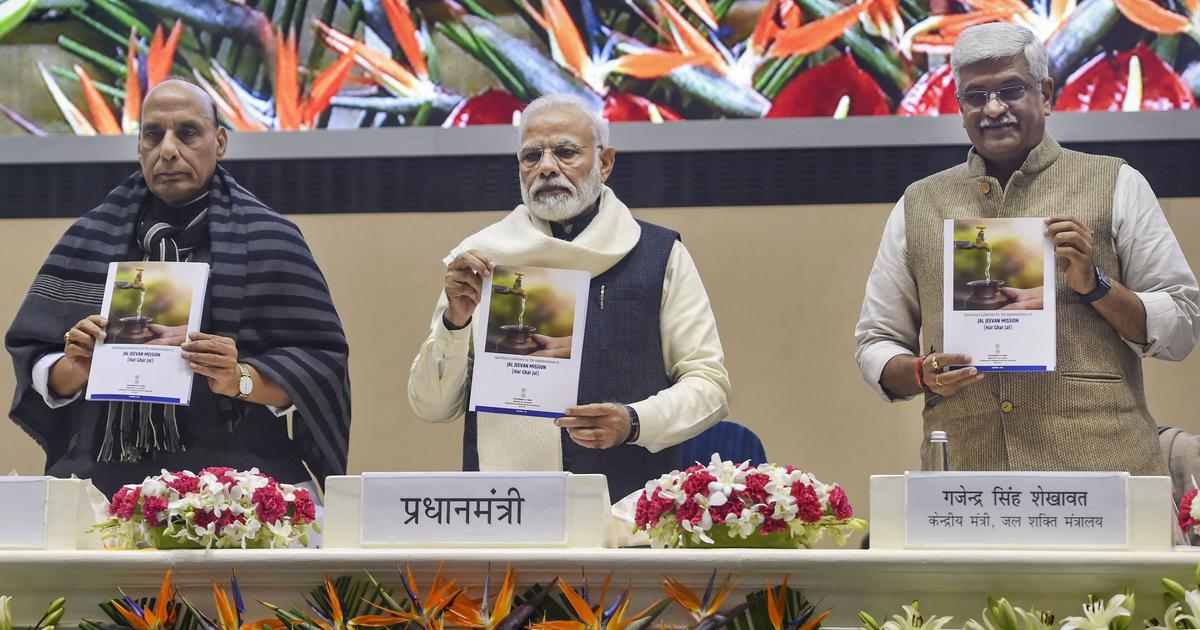PM Modi launches groundwater scheme, renames tunnel under Rohtang Pass after Vajpayee