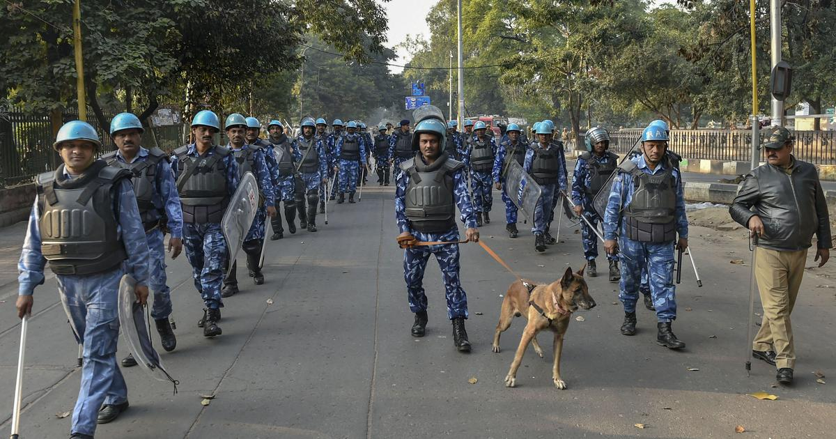 CAA protests: Drones, paramilitary forces deployed in Uttar Pradesh