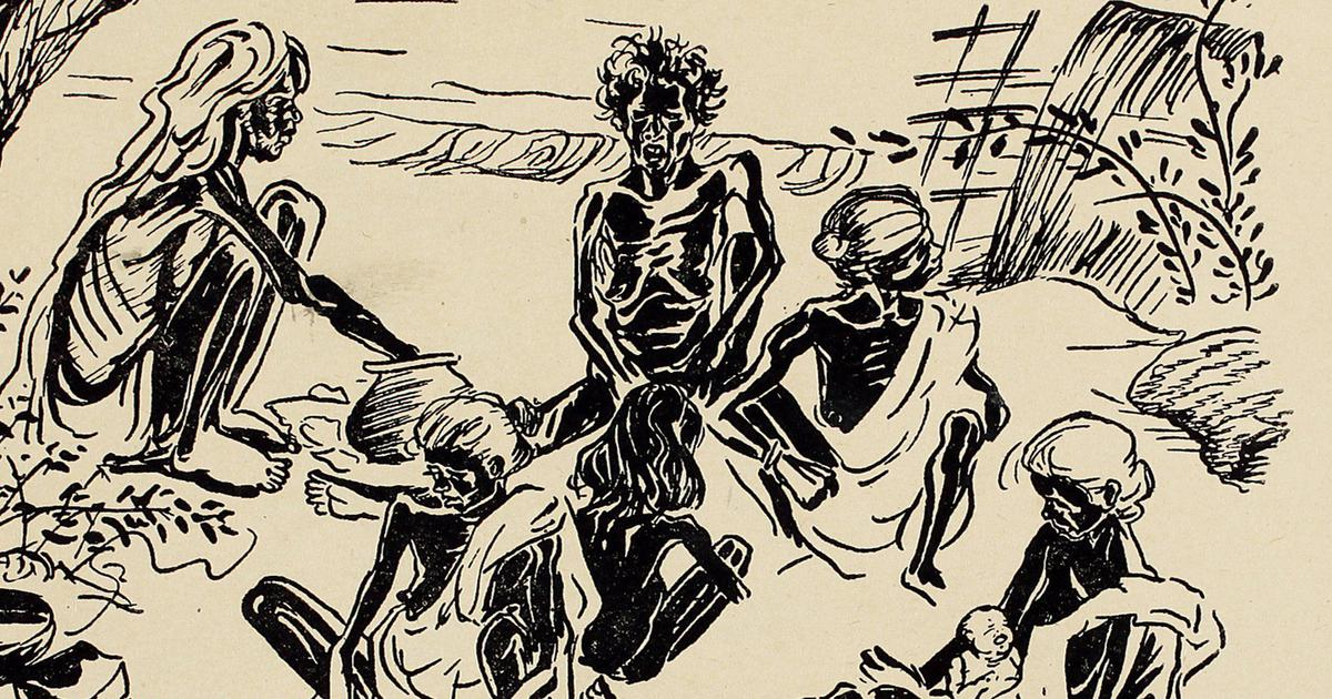 The Art of Resistance: Faced with the Bengal famine, a young man says the time for poetry is gone