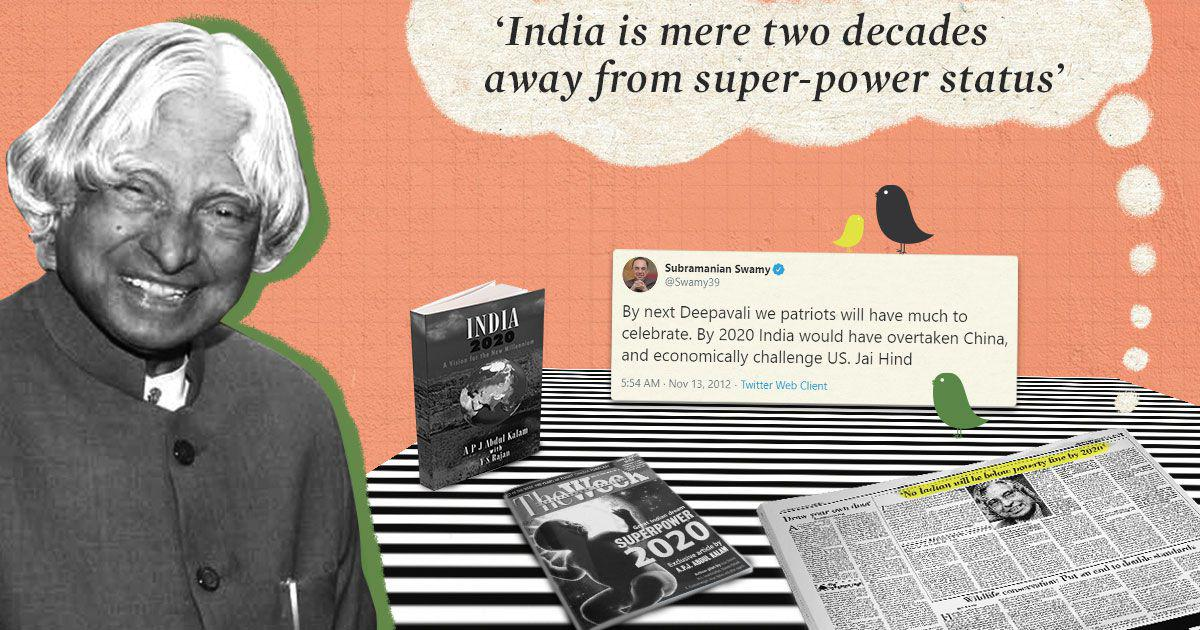 India Superpower 2020: Tracing the brief history of a spectacularly incorrect prediction