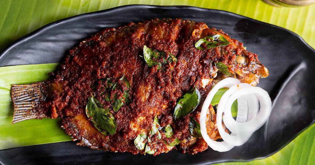 Kerala food | Karimeen Fry: A fish fry recipe by Regi Mathew of ...