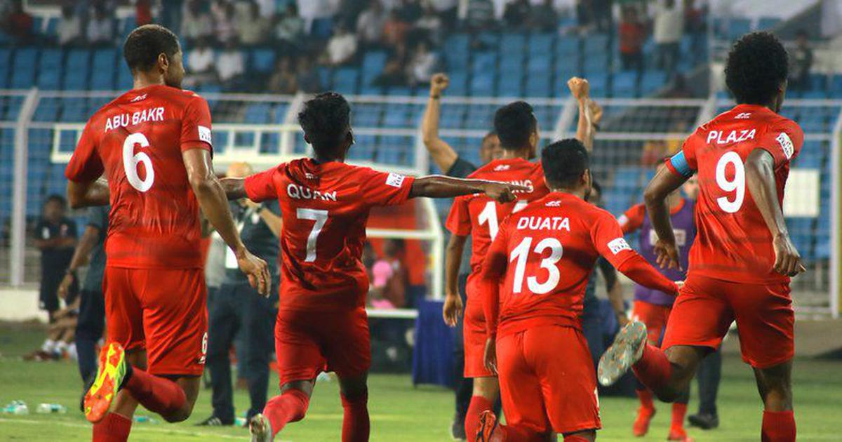 I-League: Plaza's late winner against East Bengal sends Churchill Brothers top, TRAU hold Punjab