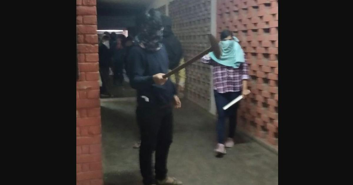 JNU violence: Masked woman in video is Delhi University student, claim police
