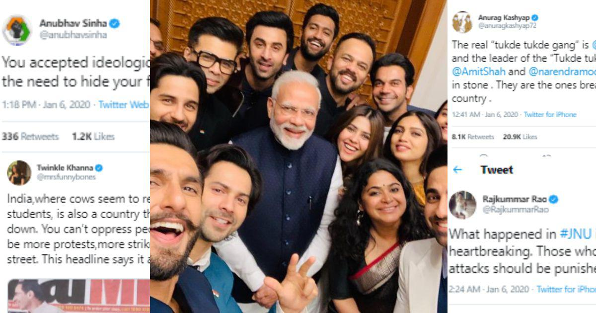 Bollywood and the BJP: One year after splashy photo-op with Modi, a quiet dinner with his minister