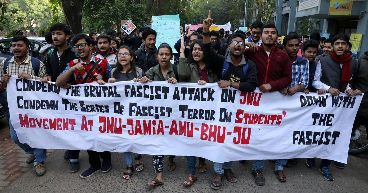 JNU violence: Protests erupt on campuses across India, calls grow for VC's sacking