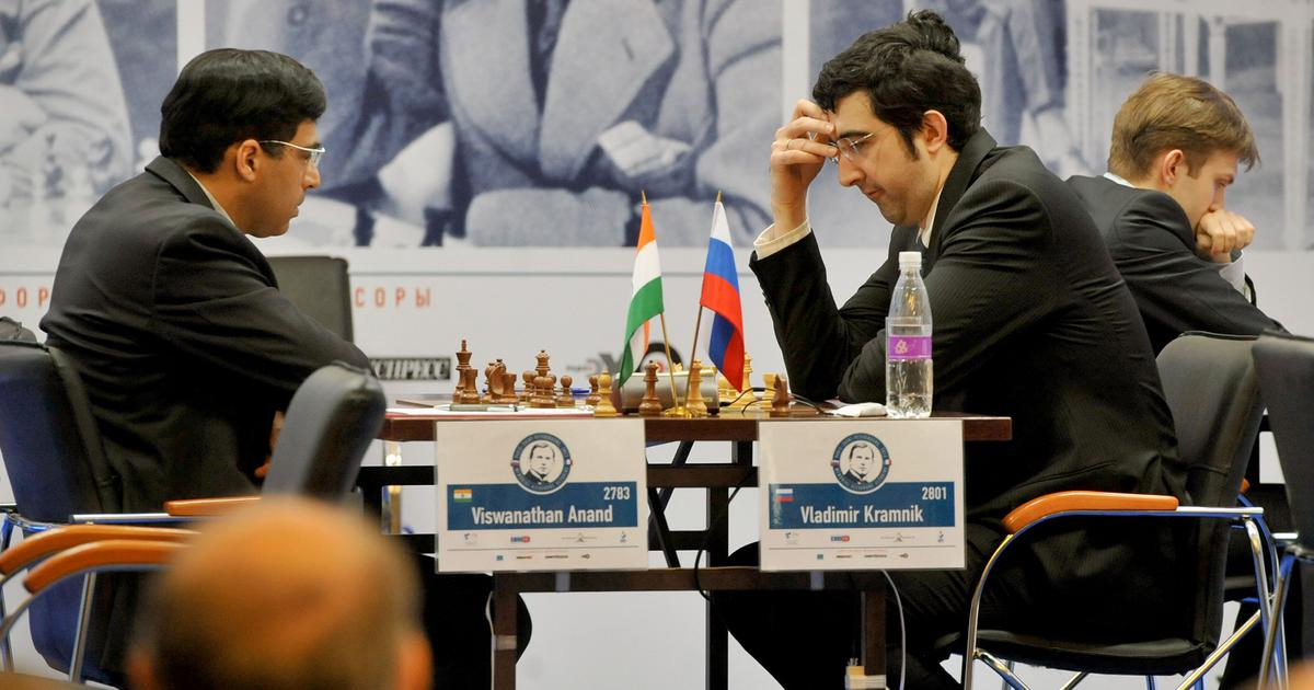 To be a top player at 50 in this era is an achievement: Kramnik backs Anand to continue playing