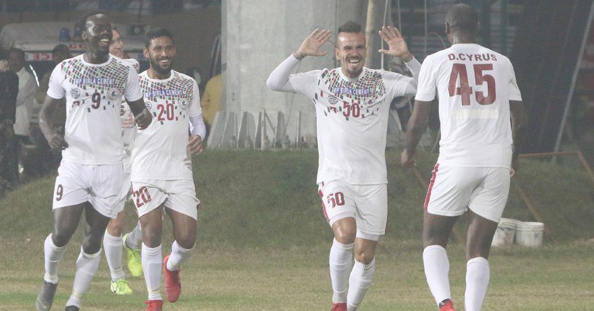 I-League: Mohun Bagan beat Indian Arrows to go top, Chennai City edge ill-tempered clash