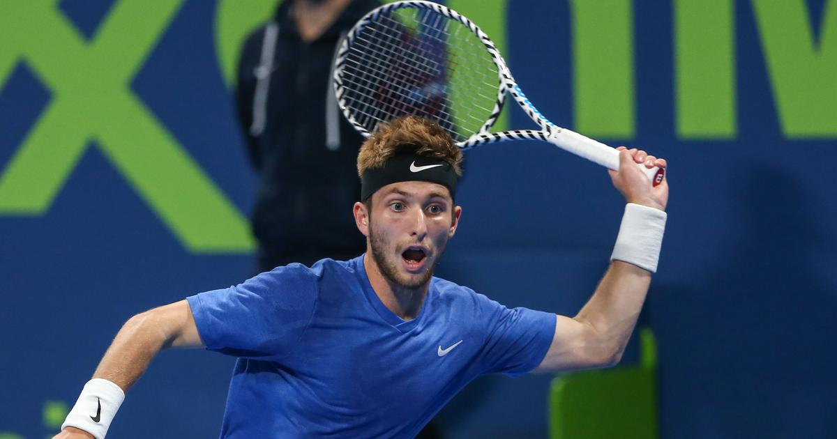 Tennis: Unseeded Moutet knocks out top seed Wawrinka, to meet Rublev in Qatar Open final