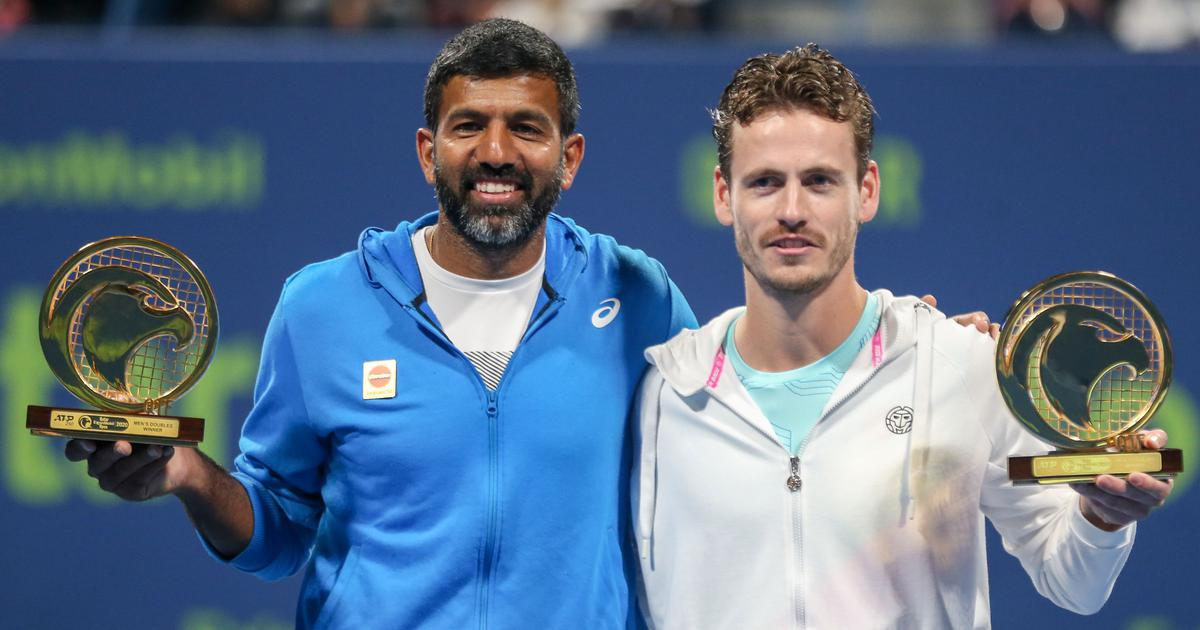 Indian tennis: Bopanna starts season with doubles title at Qatar Open, Raina out in Bendigo semis