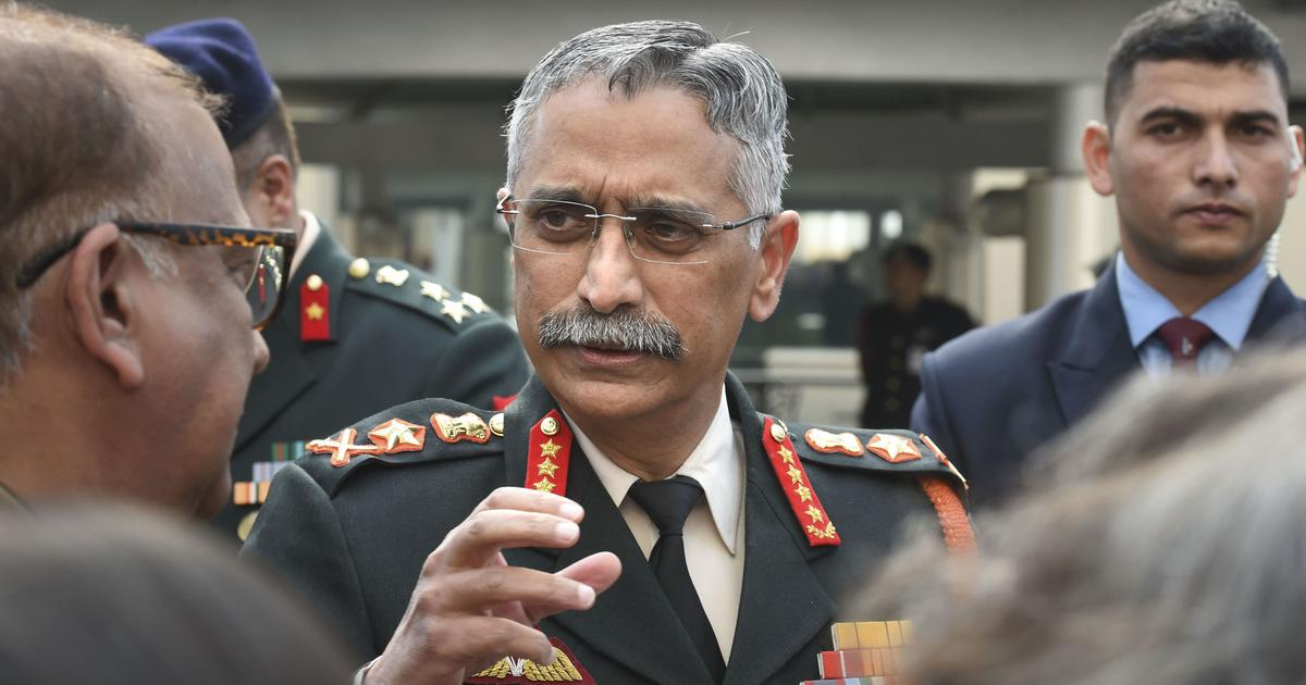 India is preparing to counter drone threats, says Army chief after Jammu air base blast