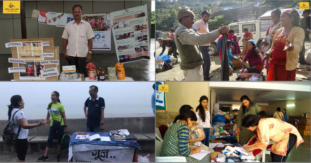 How Goonj uses business logistics to deliver donated material cheaply and quickly to the needy