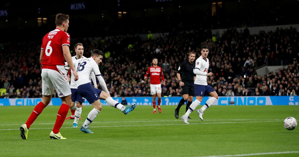 FA Cup: Tottenham Hotspur reach fourth round with scrappy win; Newcastle dominate Rochdale