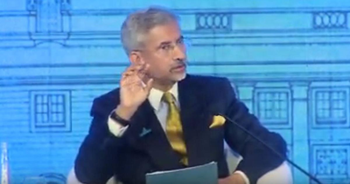 India intends to be a stabilising force, not a disruptive power in the world: S Jaishankar