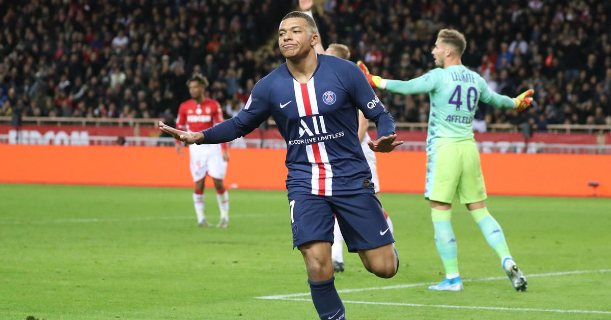 Football: Mbappe scores 20th goal of the season as PSG beat Monaco 4-1 in Ligue 1