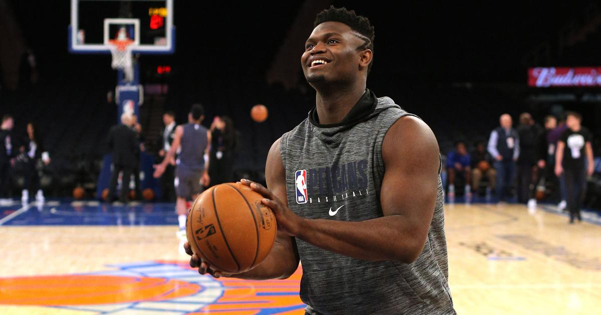 No 1 draft pick Zion Williamson set for NBA debut for Pelicans after three-month injury layoff