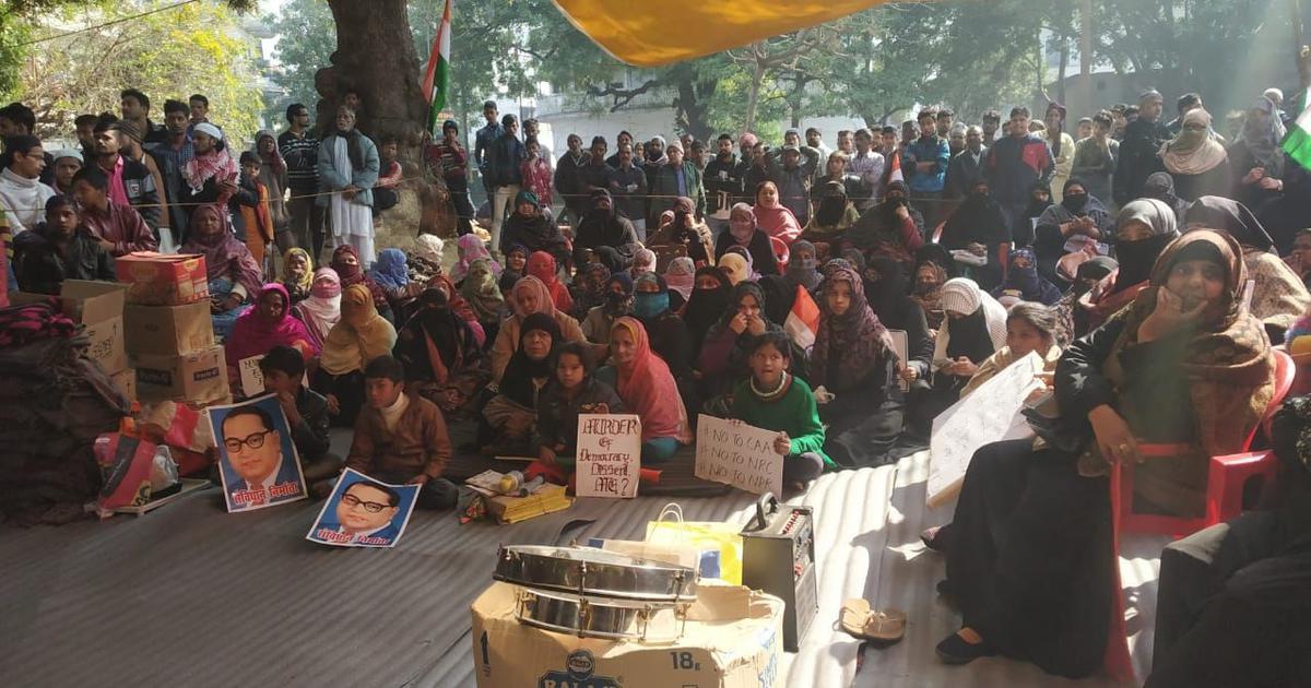 Prayagraj women's protests: FIR registered against over 200 people