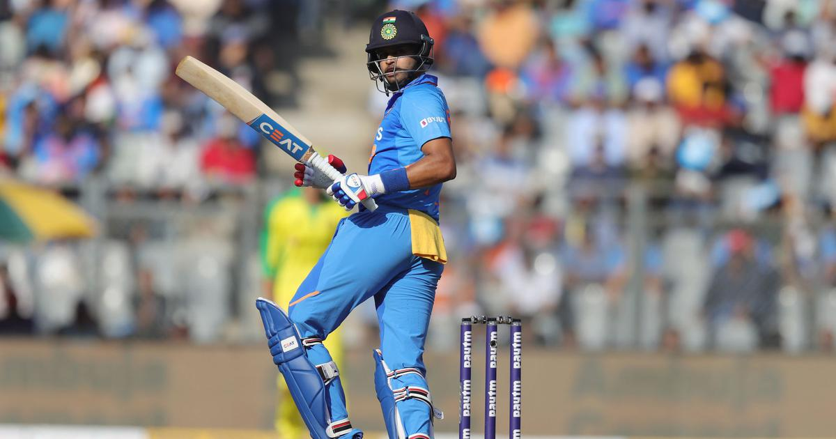 Ready to bat at any number: Iyer agrees to move down the order as India experiment at the top
