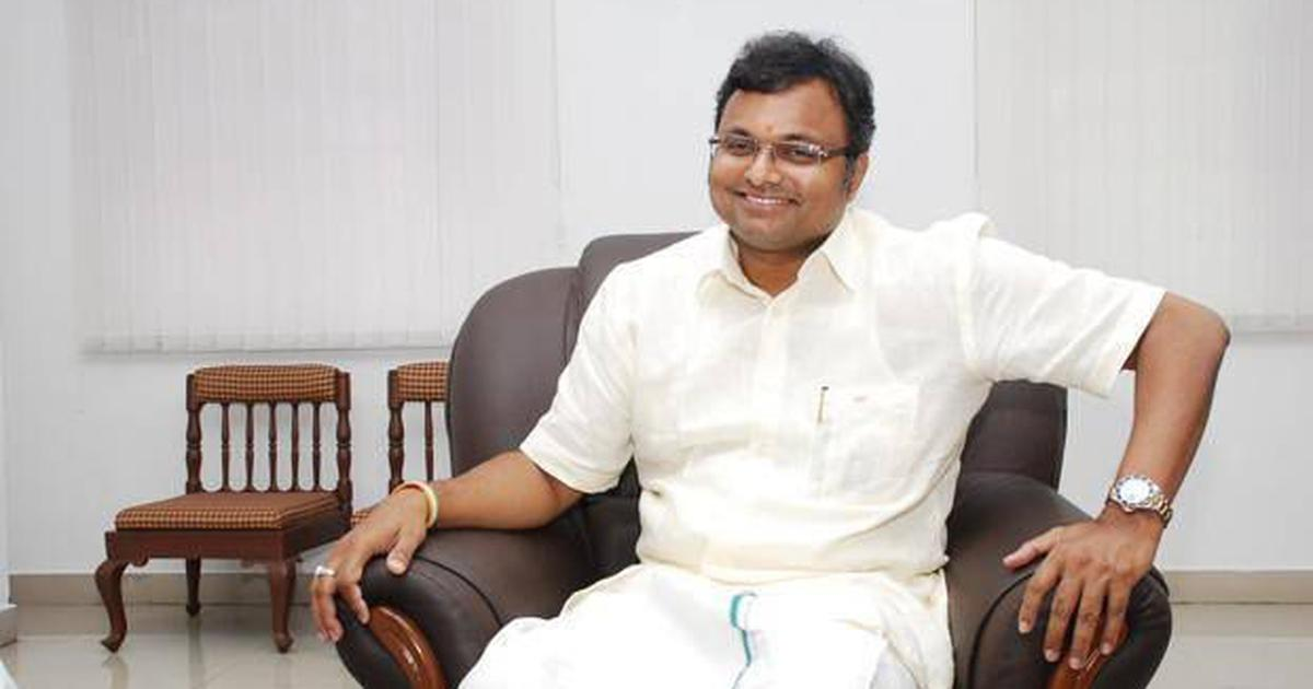 Supreme Court allows Karti Chidambaram to withdraw Rs 20 crore he had deposited to travel abroad