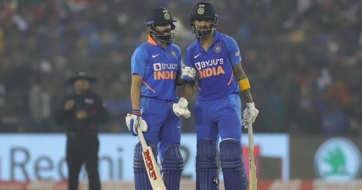The best he's played at international level: Virat Kohli hails KL Rahul as India level ODI series
