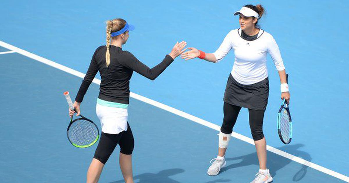 Indian tennis: Sania Mirza wins Hobart doubles title in first tournament since maternity break