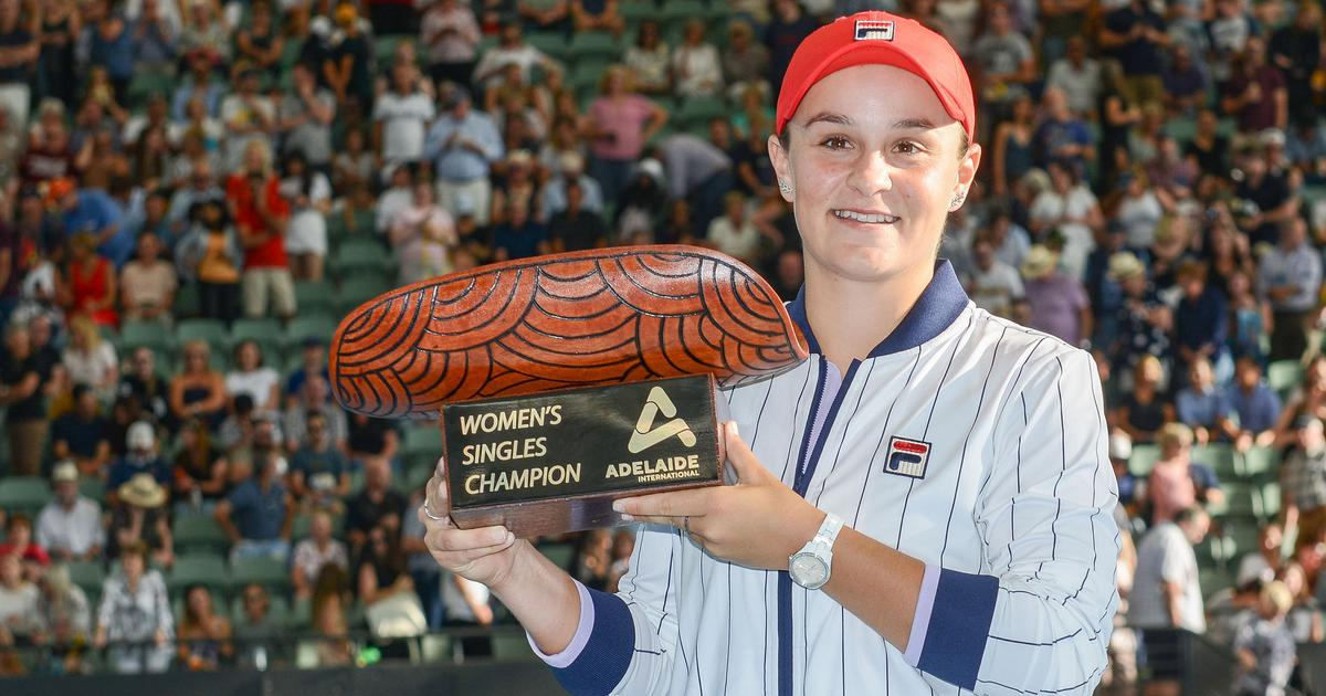 Tennis: Ashleigh Barty, Andrey Rublev bag titles at Adelaide International with straight-sets wins