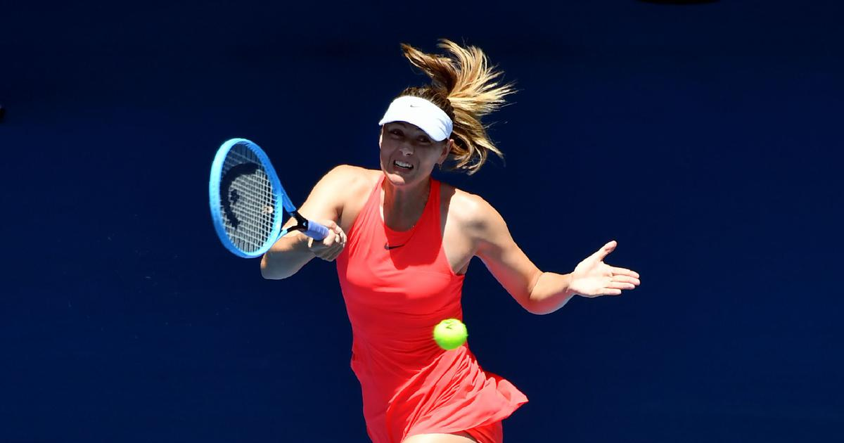 Maria Sharapova uncertain about her tennis future after first-round loss at Australian Open