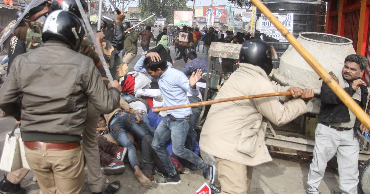 Indian Police actions against protestors show that it acts like a colonial force – not a service