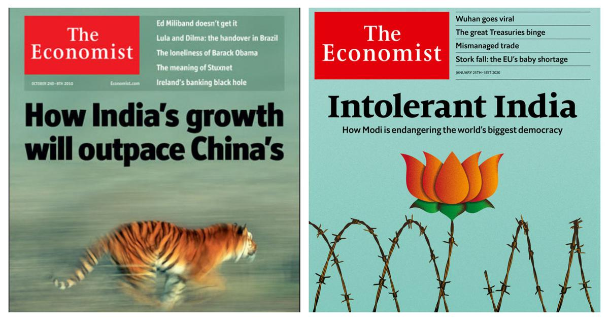 'Anti-national Economist': Twitter reacts to the magazine's new cover on PM Modi's Citizenship Act