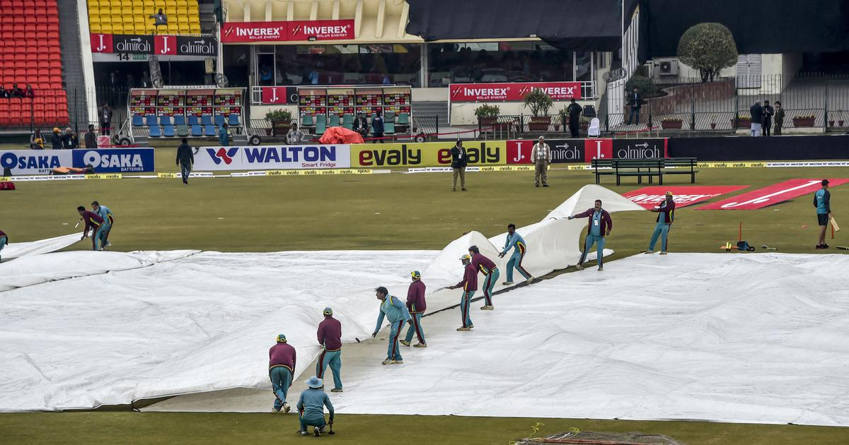 Third T20I between Pakistan and Bangladesh abandoned due to bad weather