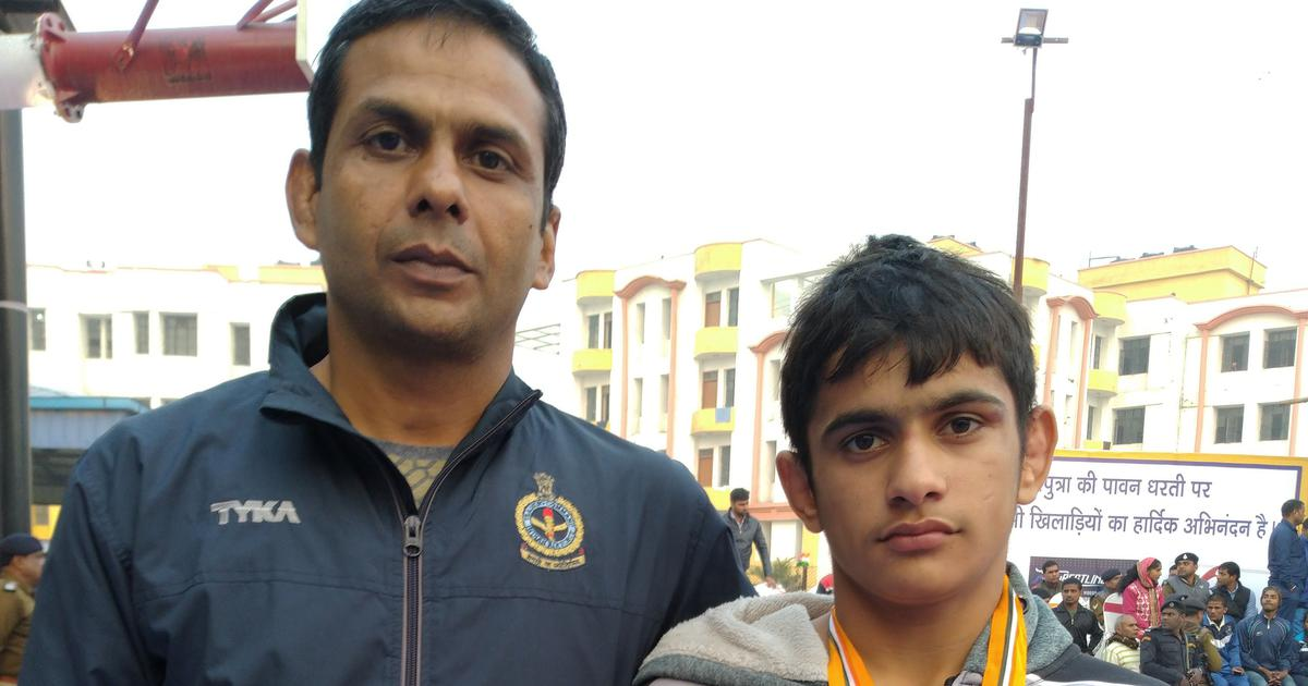 Wrestling: After gold at cadet National Championships, Aman Gulia is here to stay