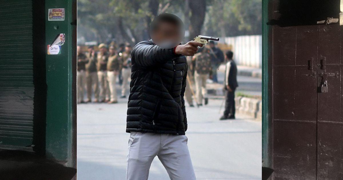 In Uttar Pradesh town, neighbours of Delhi shooter shout slogans in his support