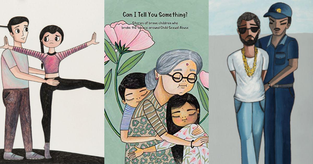 This illustrated storybook shows children how to talk about sexual abuse