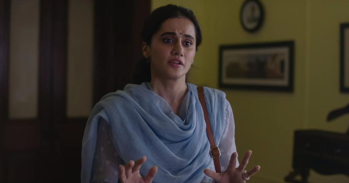 'Thappad' trailer: Taapsee Pannu starts a crusade against domestic violence