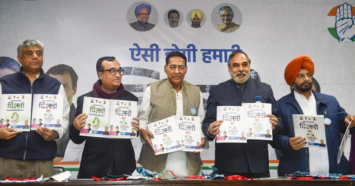 Delhi polls: Congress manifesto promises to challenge Citizenship Act in Supreme Court