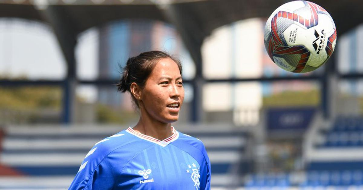 Indian football: Bala Devi, after staying back in Scotland for months, returns to action for Rangers
