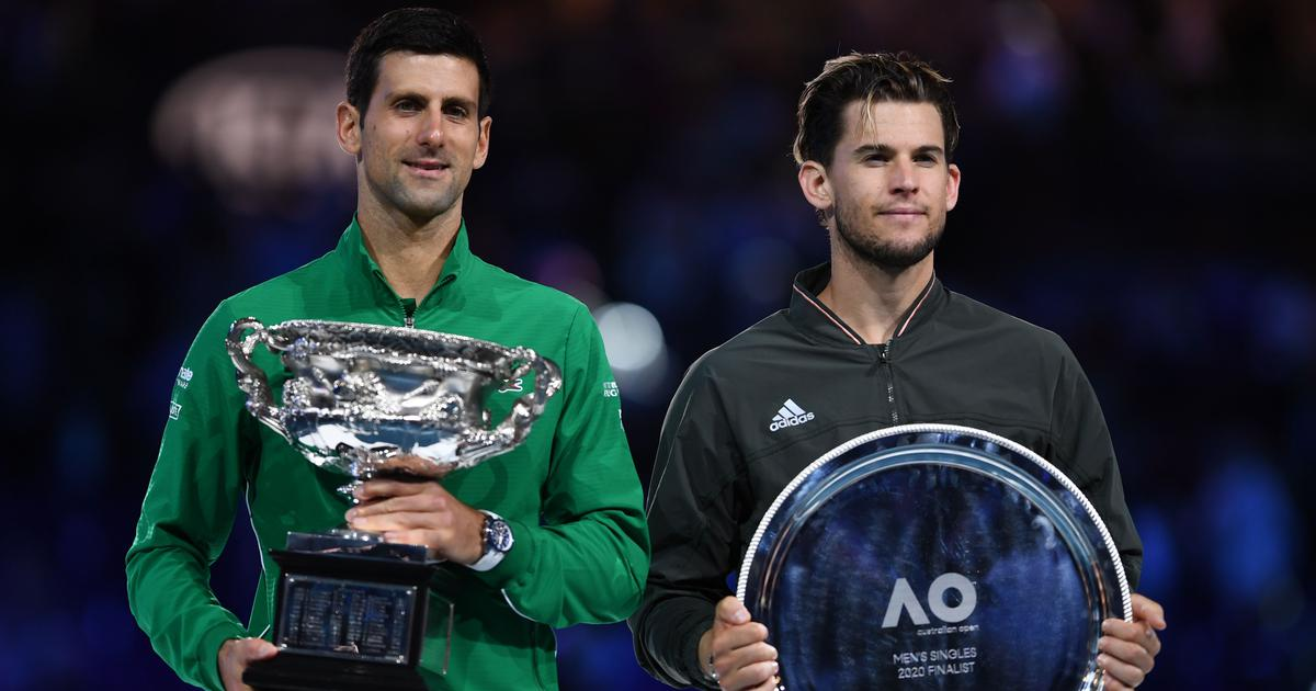 Novak Djokovic beats Dominic Thiem in five-setter to win 8th Australian Open and 17th Grand Slam